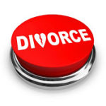 What does a mediated divorce include?